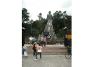 "Wheelchair users can only ""tour"" the Giant Buddha from the foot of the hill"