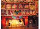 Scene of Cantonese opera stage