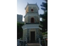 Tsui Sing Lau Pagoda is a hexagonal shaped, three-storey green brick structure about 13 metre in heigh. Fui Shing (champ