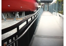 There is access ramp inside the Exhibition Gallery leading to the interior of the fireboat.