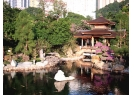 Scenery of pond in Nan Lian Garden